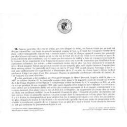 Carte Maximum - Le renard - 18/06/88 Montbard