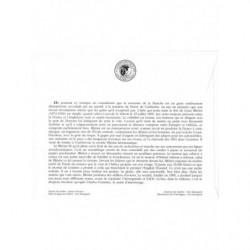 Timbre N° 86 et 87 Neuf * - Cour de justice de la Haye