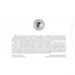 Timbre N° 1465 Neuf ** - Pour les victimes de calamités. Tableaux de Pol Mara
