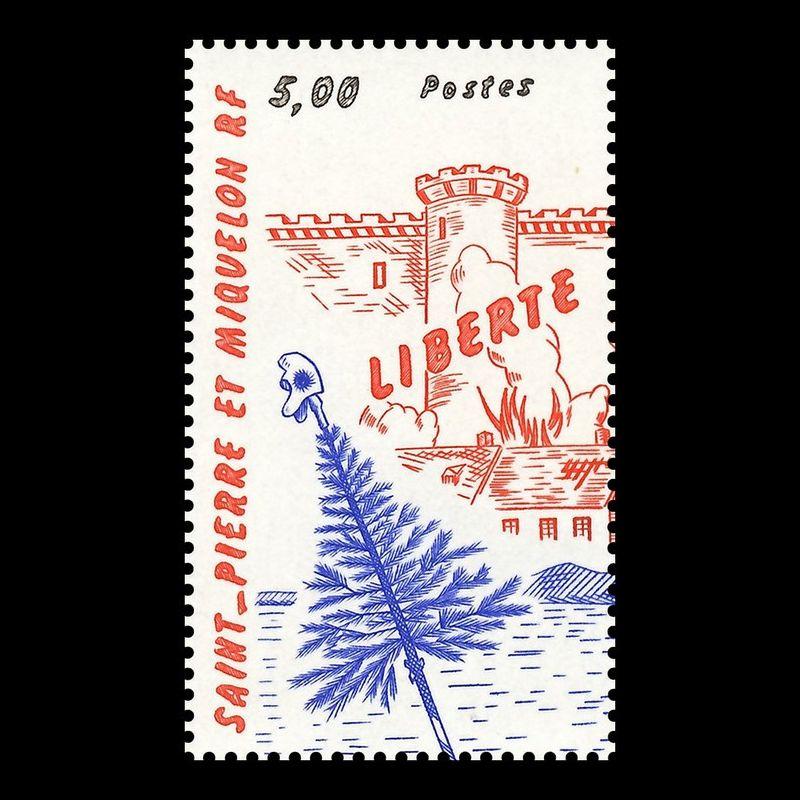Timbre N° 2099 Neuf ** - Saint John Perse