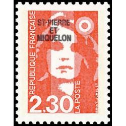 Timbre N° 2120 Neuf ** - Sabine de Gandon