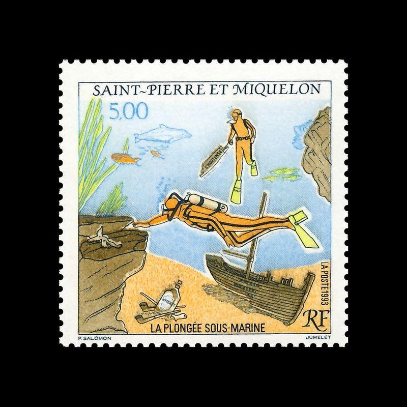 Timbre N° 2193 Neuf ** - Saint Pierre et Miquelon