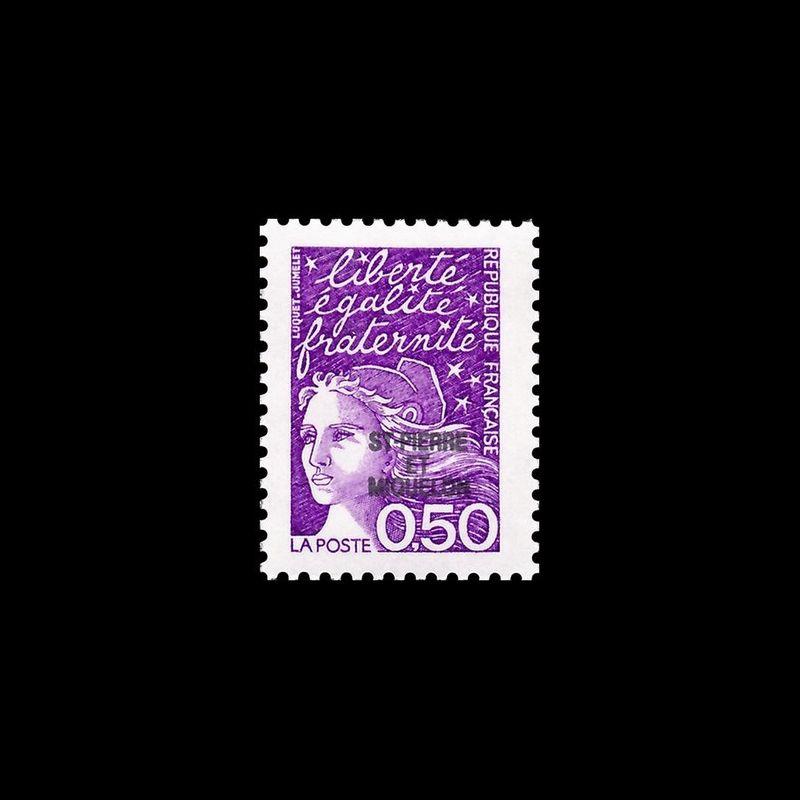 Timbre SERVICE N° 468 Neuf ** - 75e anniversaire du bureau international du travail