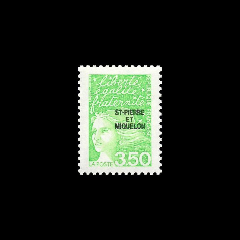 Timbre SERVICE N° 469 Neuf ** - Centenaire des radiocommunications
