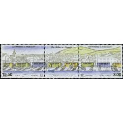 Timbre N° AA5b Neuf - Sans val + Type Marianne du bicentenaire + vignette