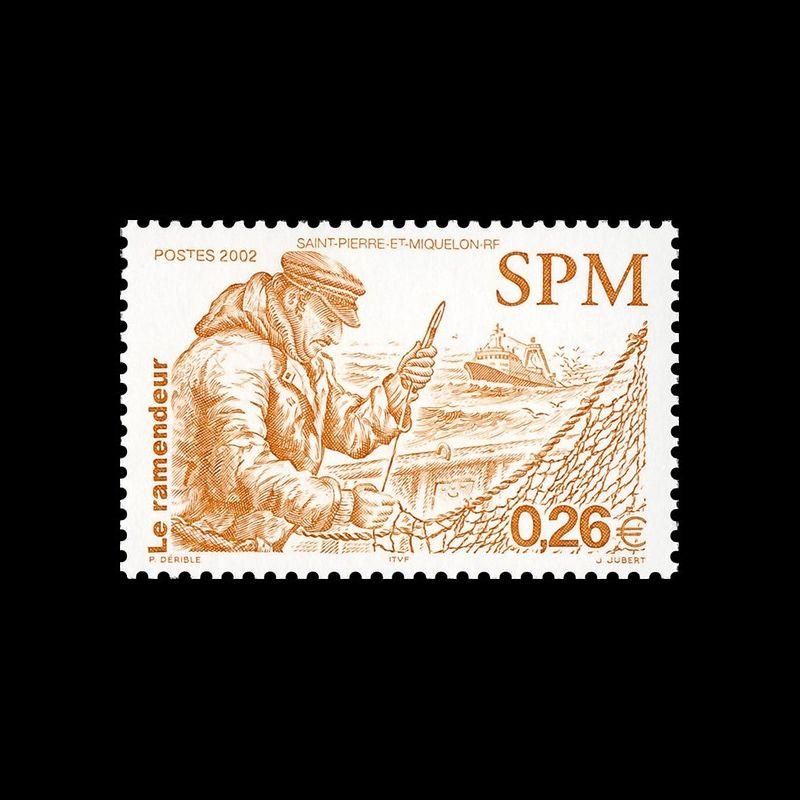 Timbre N° 2202a Neuf ** - Bloc de 4 - Chiffre 7 absent sur le timbre haut droit