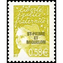 Timbre N° 277 Neuf ** - Europa. Premier bureau de poste français en Andorre