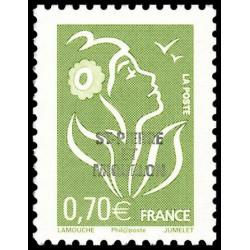 Timbre N° 2615 Neuf ** - Type Liberté avec lettre C vert