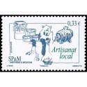 Carnet de timbres autoadhésif C431 - Les saveurs de nos régions