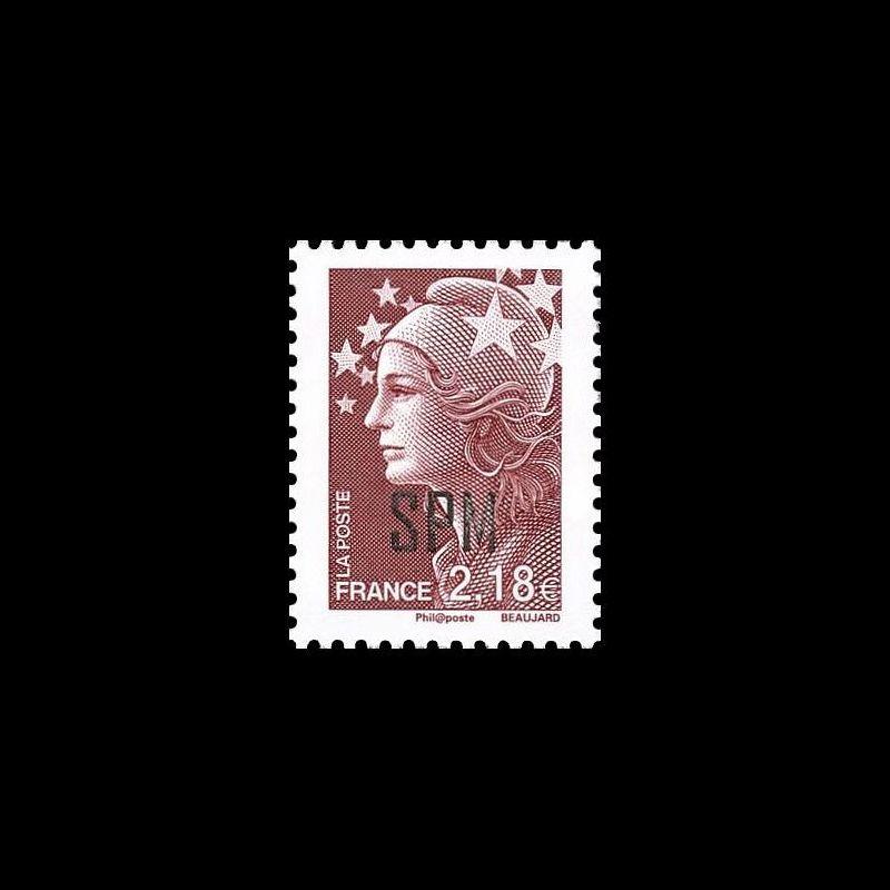 Timbre N° 3135 Neuf ** - Journée du timbre. Blanc 1900
