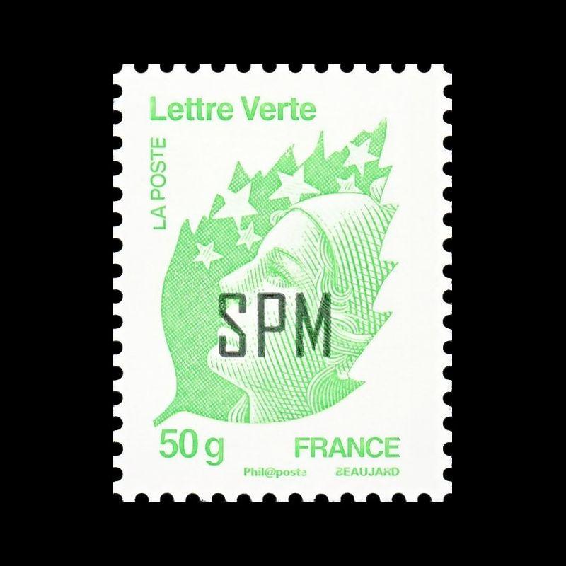 Carnet de timbres autoadhésif BC163 - Timbre de naissance - C´est une fille