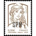 Timbre N° 3916A Neuf ** personnalisé avec vignette timbres plus