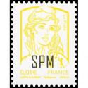 Timbre N° 3633A Neuf ** personnalisé avec logo les timbres personnalisés
