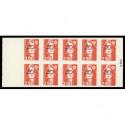 Timbre F3172a - Feuille de 20 timbres avec vignette