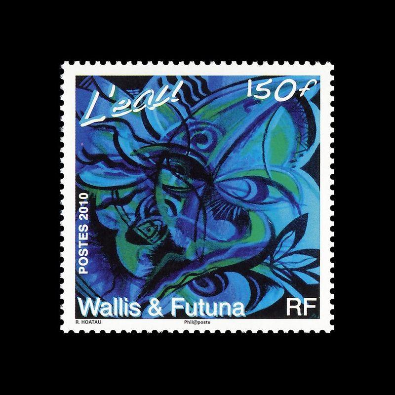 Feuillet 4 timbres oblitérés - Thème papillons