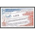 Document officiel La Poste - Bimillénaire de Strasbourg