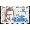 Document officiel La Poste - Journée du timbre 1988