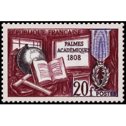 Timbre coin daté - N° 1428 Neuf ** - Battyscaphe