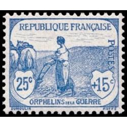 Timbre coin daté - N° 1277 Neuf ** - Centenaire de la création du pavillon national