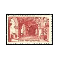 Timbre N° 1669 Neuf ** - Vues du vieux Monaco-ville