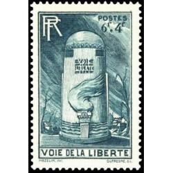 Document officiel La Poste - Hommage à Jeanne d'Arc