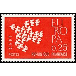 Timbre N° 1720 Neuf ** - Croix rouge Monégasque