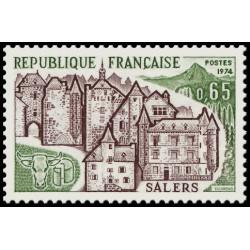 Timbre N° 1832 Neuf ** - Vues du vieux Monaco ville