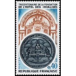 Timbre N° 1872 Neuf ** - Expo canine spéciale Terre-Neuve et Saint-Bernard