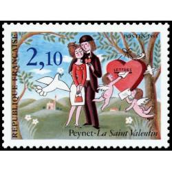 Timbre N° 2744 Neuf ** - Journée du timbre 92 provenant de carnet