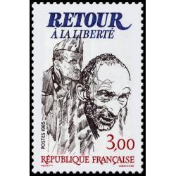 Timbre N° 2760 Neuf ** - La France et l'Espagne, pays olympiques 1992