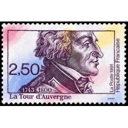 Timbre N° 193A - Hommage à Adrien Vincendon Dumoulin. Triptyque