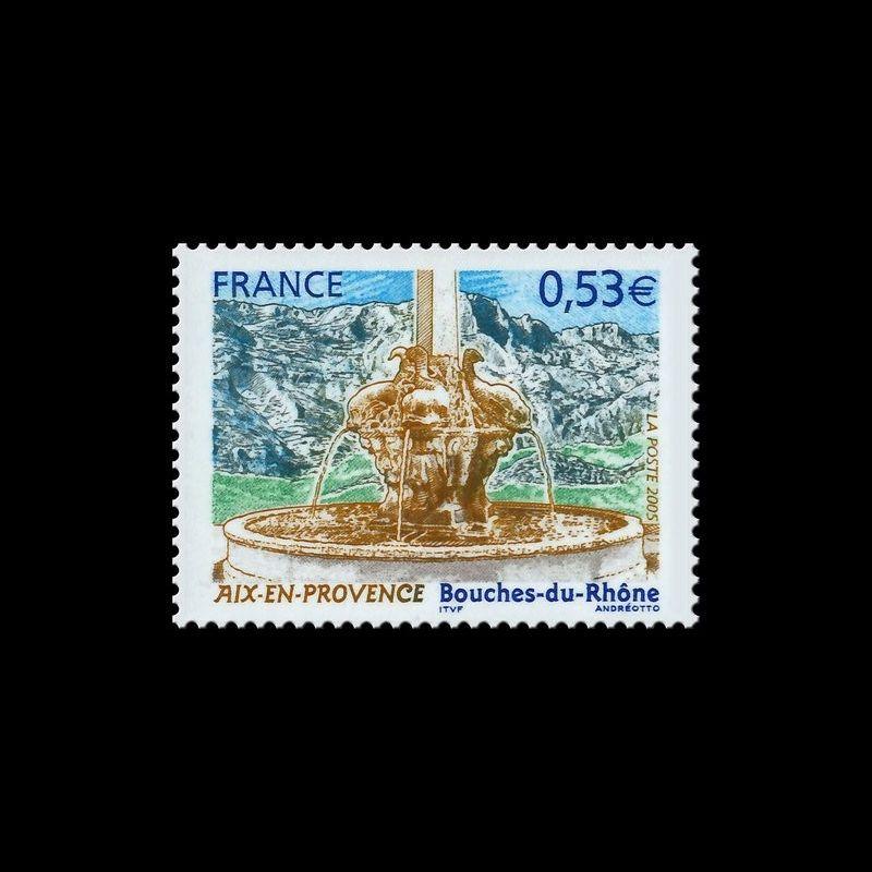 Document officiel La Poste - Pont canal de Briare