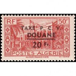 Timbre N° 109 Neuf ** - Le Bureau de Poste de Mayotte