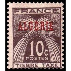 Timbre N° 115 Neuf ** - Marianne du 14 juillet RF - surchargé