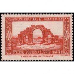 Timbre N° 1762 Neuf ** - Le rocher de Monaco et le port de Fontvieille