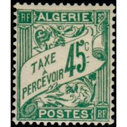Timbre N° 486 Neuf ** - Type Cérès surchargé 1 f. sur 1 f. 75