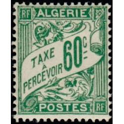 Timbre N° 488 Neuf ** - Type Cérès surchargé 1 f. sur 2 f. 50