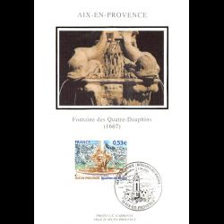 Document officiel La Poste - Colmar