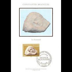Document officiel La Poste - Bourse aux timbres - 150e anniversaire