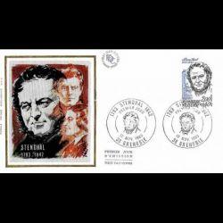 Document officiel La Poste - Croix rouge 2002 - Giovanni Battista Salvi