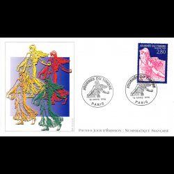 Enveloppe premier jour de Polynésie Française