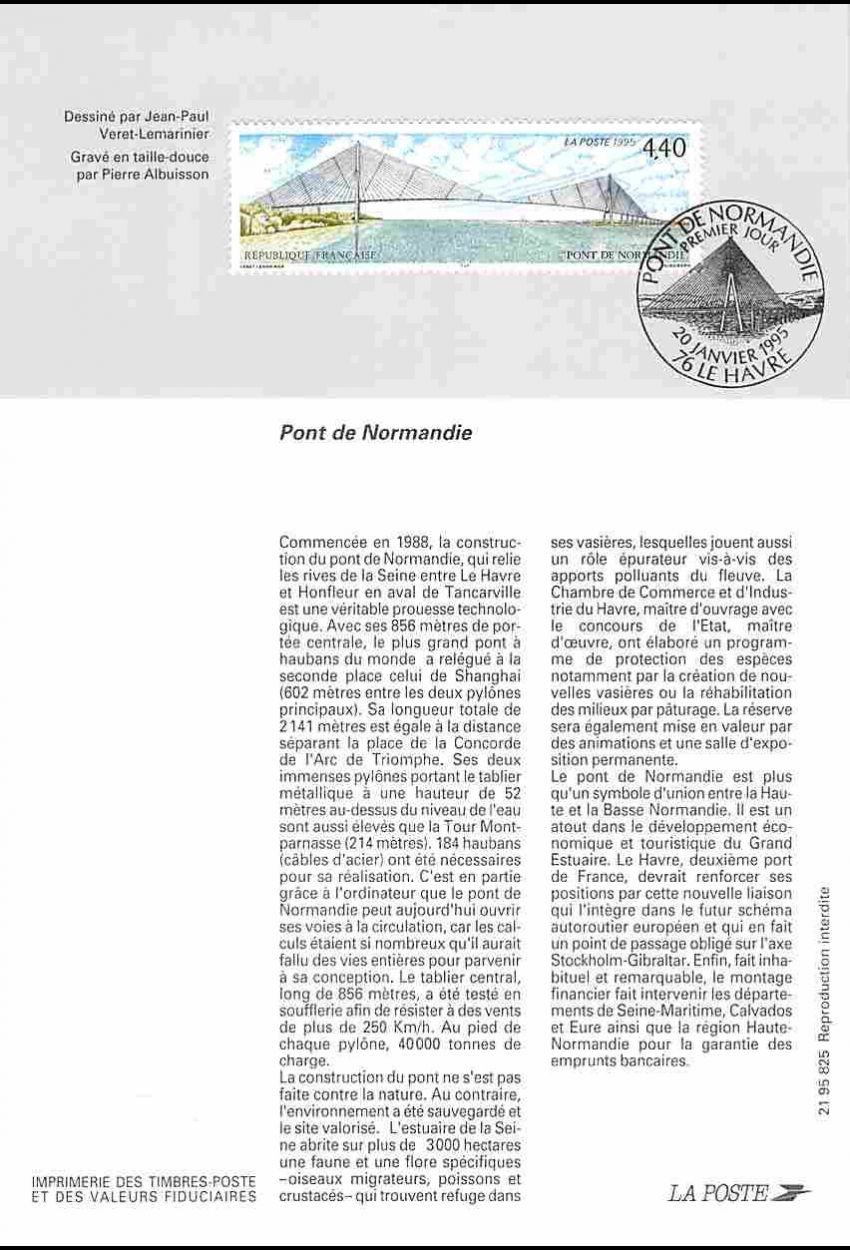 Timbre N° 1458 Neuf ** - Energie éolienne