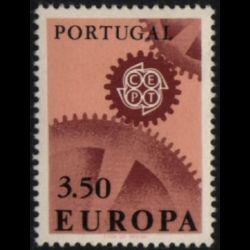 Gibraltar - FDC Europa 1966