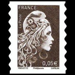 Animaux préhistoire, mammouth - oblit Paris 19/4/08
