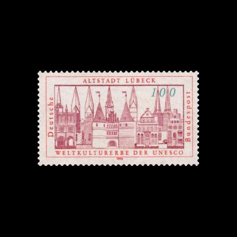 Carte postale - Cathédrale de Clermont Ferrand - 24/5/1996
