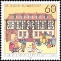 Carte postale - Ecole des ponts et chaussées - 4/7/1997 Champs sur marne