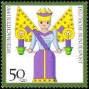 Carte postale - L'église de Menil sur Saulx - 29/10/1994 Ligny en Barrois