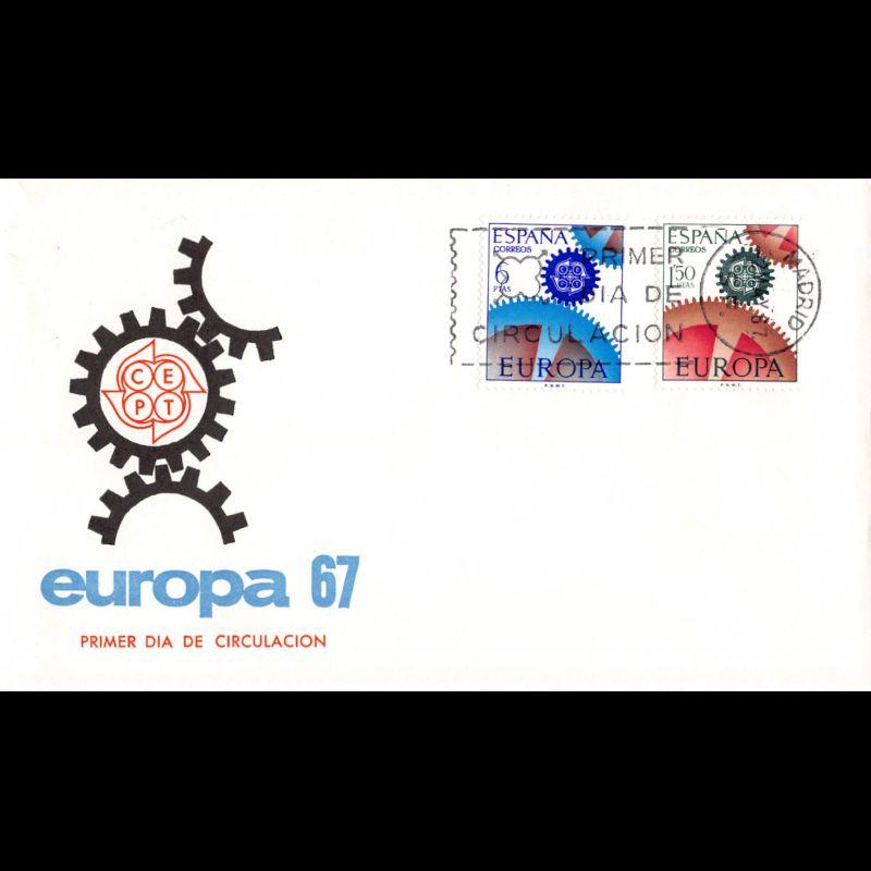FDC LNF - Conseil de l'Europe (S73) - 13/11/1982 Strasbourg