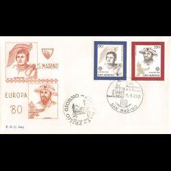CEF - Croix rouge, les saisons (1861) - 29/11/1975 Le Creusot