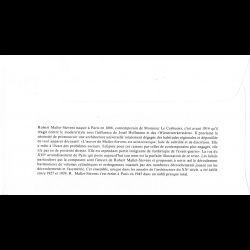 CEF soie - 150e anniv 1er timbre fiscal mobile Cabasson, oblit 6/11/10 Paris